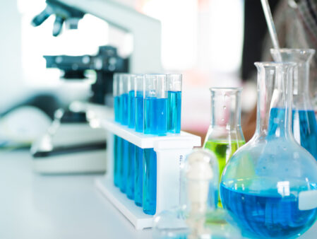 The,Test,Tube,And,Equipment,In,Science.